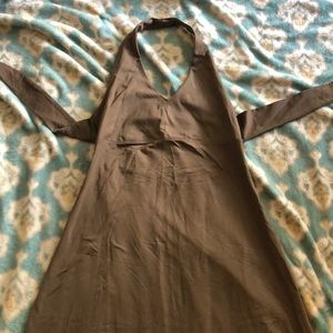Patagonia Morning Glory Brown Halter Dress